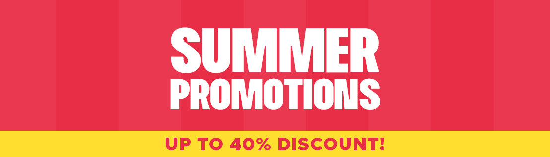 Summer Promotions 2021